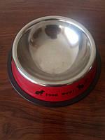 Миска для котів з гумкою 13.5 см, фото 1
