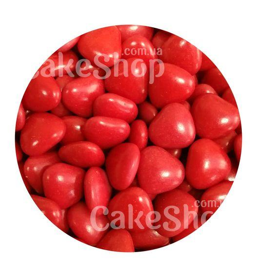 Декор шоколадный Сердца красные, 50 г