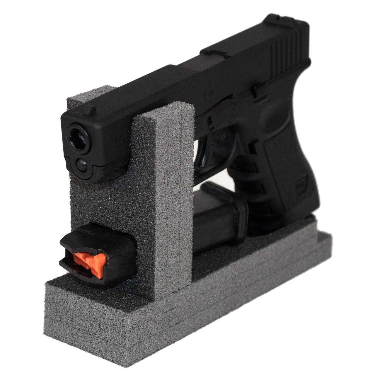 Ложемент / Подставка для пистолета GR1 на 1 пистолет и на 1 магазин