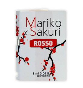 Пробник парфуми з феромонами жіночі Mariko Sakuri ROSSO, 1 ml