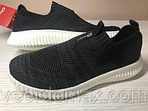 Кроссовки женские Demax сетка    цвет - черный