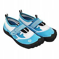 Взуття для пляжу і коралів (аквашузы) SportVida SV-DN0009-R35 Size 35 Blue/White