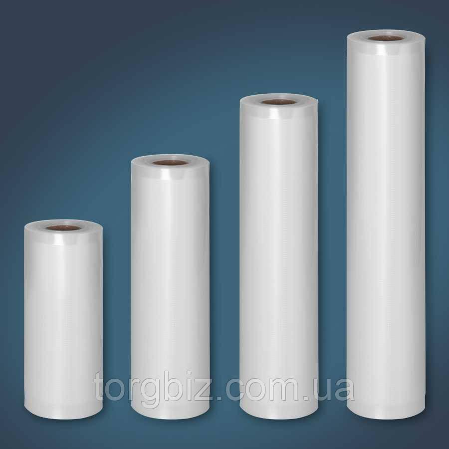 Вакуумні гофровані пакети-рулони 20х600 см Вакуумний рулон