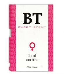 Пробник парфуми з феромонами жіночі BT PHERO SCENT,1 мл