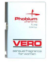 Пробник парфуми з феромонами жіночі Phobium Pheromo VERO, 1 мл
