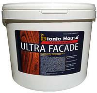 Кроющий ультрастойкий антисептик-лазурь для дерева ULTRA FACADE (колеруется в цвета) 10 л