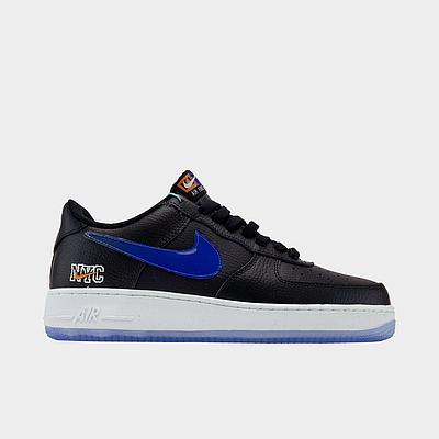 Кроссовки Nike Air Force 1 Low NYC Black мужские, черного цвета, Найк Аир Форс 41