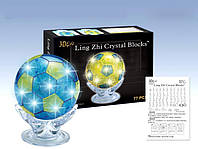 Пазлы 3д кристалл футбольный кубок