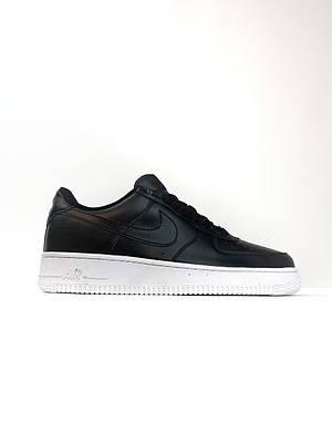 Кроссовки Nike Air Force 1 Low Black мужские, черного цвета, Найк Аир Форс