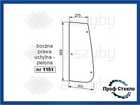 Стекло Deutz-Fahr Agrotron MK3, M, Profiline, TTV боковое правое наклонное