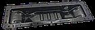 Бак радиатора нижний МТЗ-80, 82. 70У-1301075 (металл) (порошковая покраска). Бак радіатора нижній, фото 3