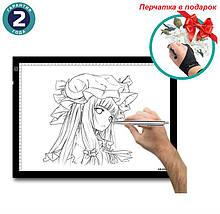 Графический планшет Huion A3 + перчатка