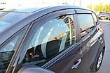 Дефлекторы окон (ветровики) Mercedes Benz C-klasse Wagon (W204) 2007-2013, фото 3