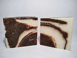 Натуральное кофейное мыло ручной работы 100 г Pinka