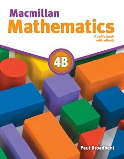 Macmillan Mathematics 4B Pupil's Book with eBook Pack
