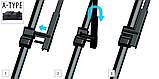 Щетки стеклоочистителя Ford C-max 2003-2010 /Citroen C5 2003-2008 ,кт 2 шт, фото 2
