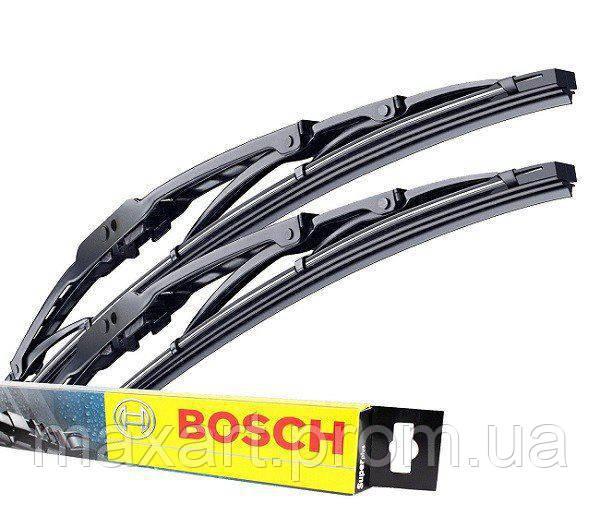 Комплект щетлк стеклоочистителей каркасный BOSCH Twin 550/475 код 3397001727