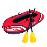 Човен надувна Bestway Hydro-Force Raft Set 1місна з веслами 155-93см