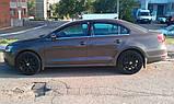 Дефлекторы окон (ветровики) Volkswagen JETTA,11-, фото 2