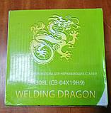 Дріт зварювальний ER308L для нержавіючих сталей Welding Dragon 1,0 мм (5 кг), фото 4