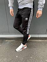 Мужские черные весенние спортивные штаны Adidas