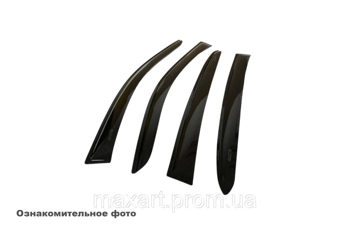 Дефлекторы окон (ветровики) Nissan Tiida Hb 2004-2014 DK1218T