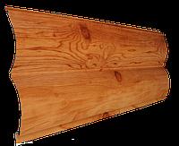 Сайдинг металлический Блок-хаус Бревно (под дерево)