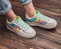 Женские разноцветные кроссовки Nike Air Force