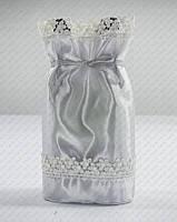 Красивая упаковка на свадебное шампанское