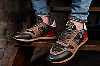 Чоловічі різнокольорові кросівки VALENTINO