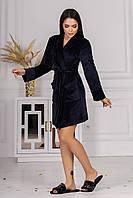 Домашній жіночий халат з велюру 001/04 В