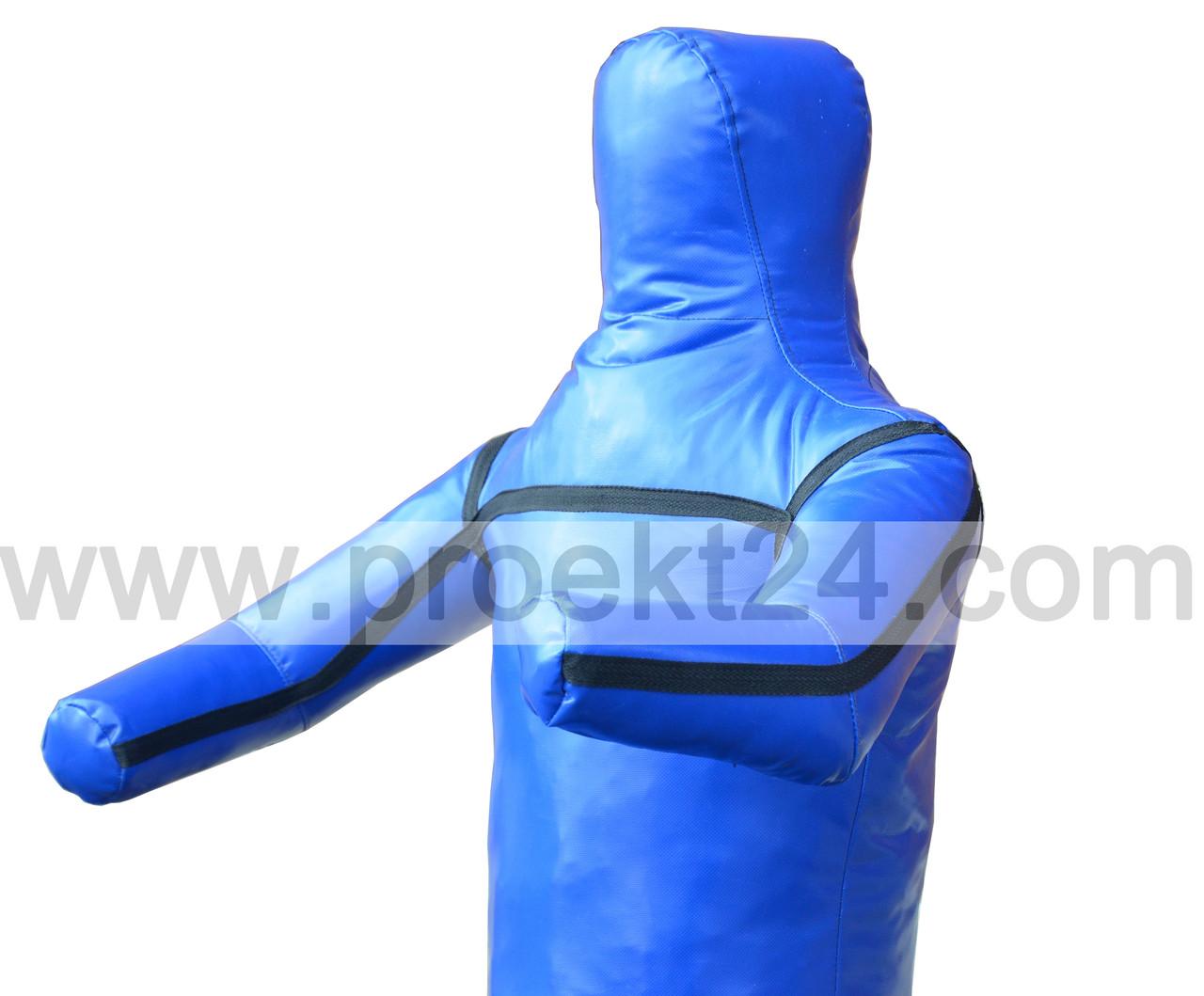 Манекен для борьбы, борцовский манекен 140см. (1 нога, руки вперед)