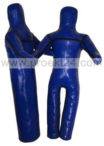 Манекен для борьбы, борцовский манекен 170см. (2 ноги, руки вперед)
