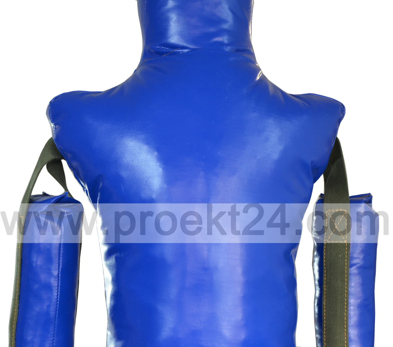 Манекен для борьбы, борцовский манекен 120см. (1 нога, руки вниз)