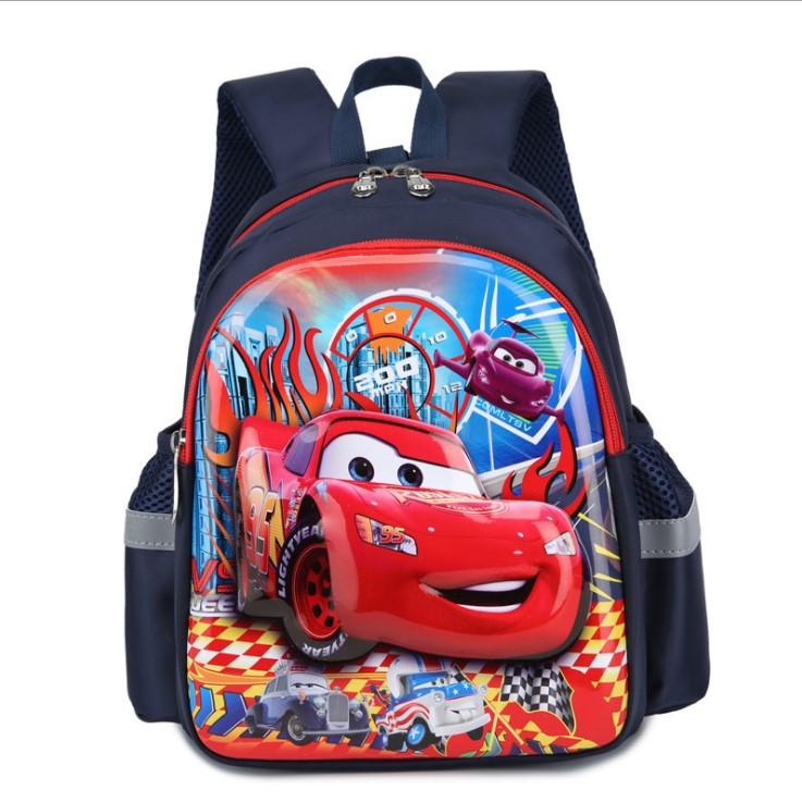 Рюкзак детский дошкольный для мальчика 3D Тачки  Маквин на 3-5 лет
