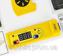Інкубатор автоматичний Теплуша люкс іб-72 лампи/вологомір, фото 2