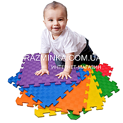 Коврик пазл детский 50х50х1см, 1шт (разные цвета)