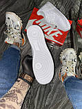 Кроссовки Nike Air Max Speed Turf Black Green. мужские, белого цвета, Найк Аир Форс, фото 8