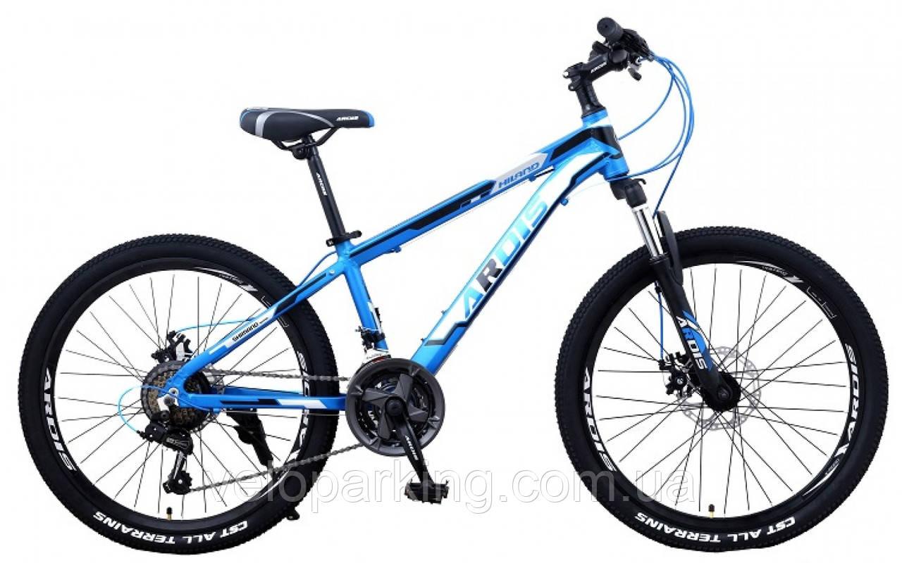 Горный подростковый 24 Ardis Hiland  алюминиевый велосипед