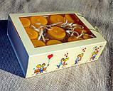 Набор 6 стеклянных подсвечников в комплекте с 6 прозрачными восковыми чайными свечами 24г для влюбленных, фото 5