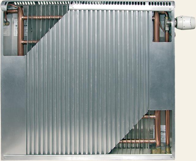 Радиаторы медно-алюминиевые Термия с высотой 600мм, нижнее подключение