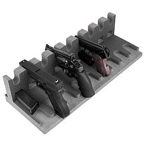 Ложемент/Подставка для пистолетов GR9 на 9 пистолетов и на 9 магазинов