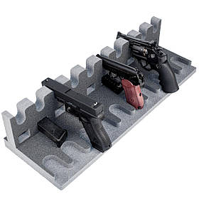 Ложемент/Подставка для пистолетов GR10 на 10 пистолетов и на 10 магазинов