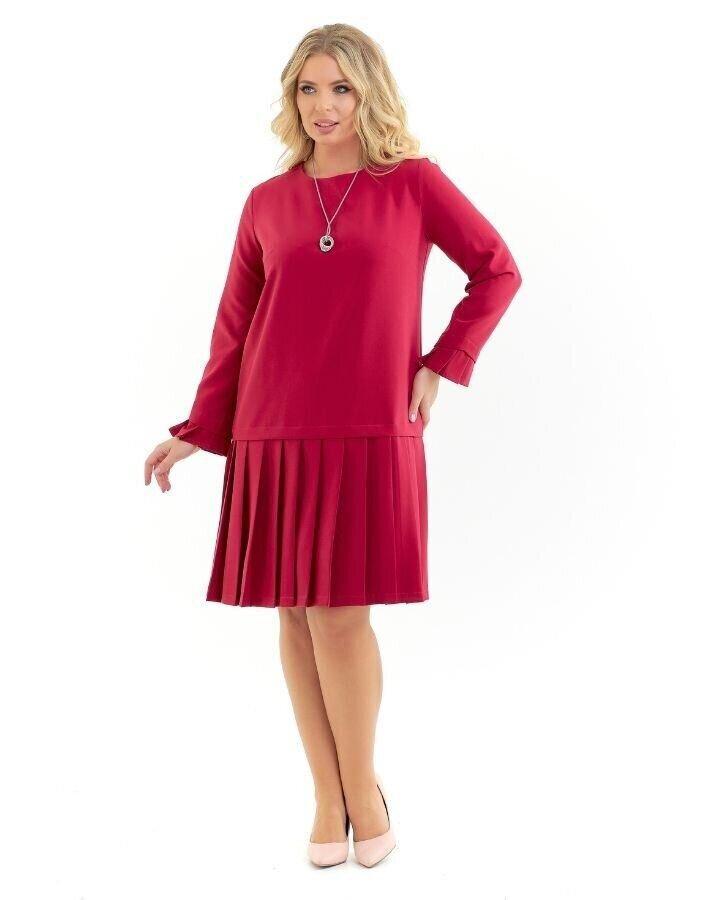 Платье малиновый(52)