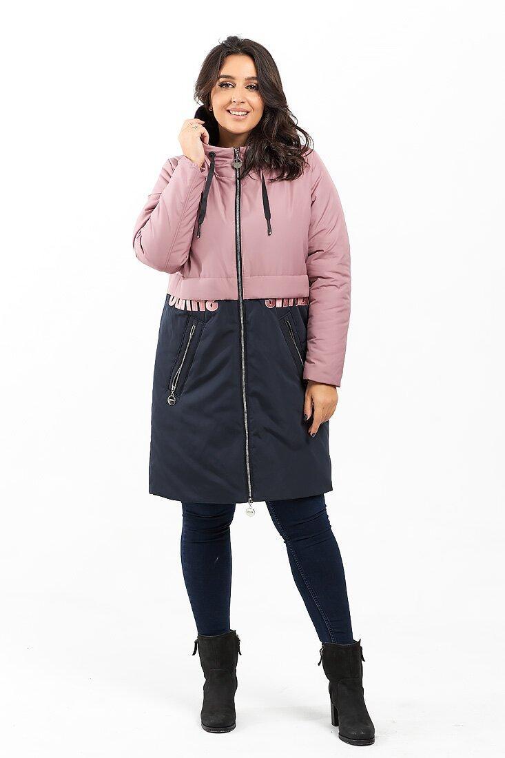 Куртка розовый(52)