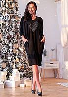Платье черный(52), фото 1