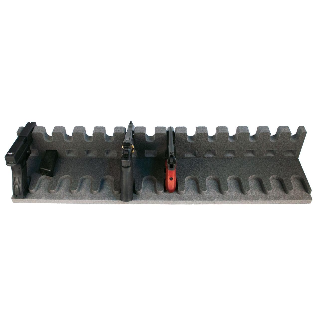 Ложемент / Підставка для пістолетів GR14 на 14 пістолетів і на 14 магазинів