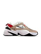 Кроссовки Nike M2K Tekno женские, белого цвета, Найк М2К Текно, женская обувь Найк