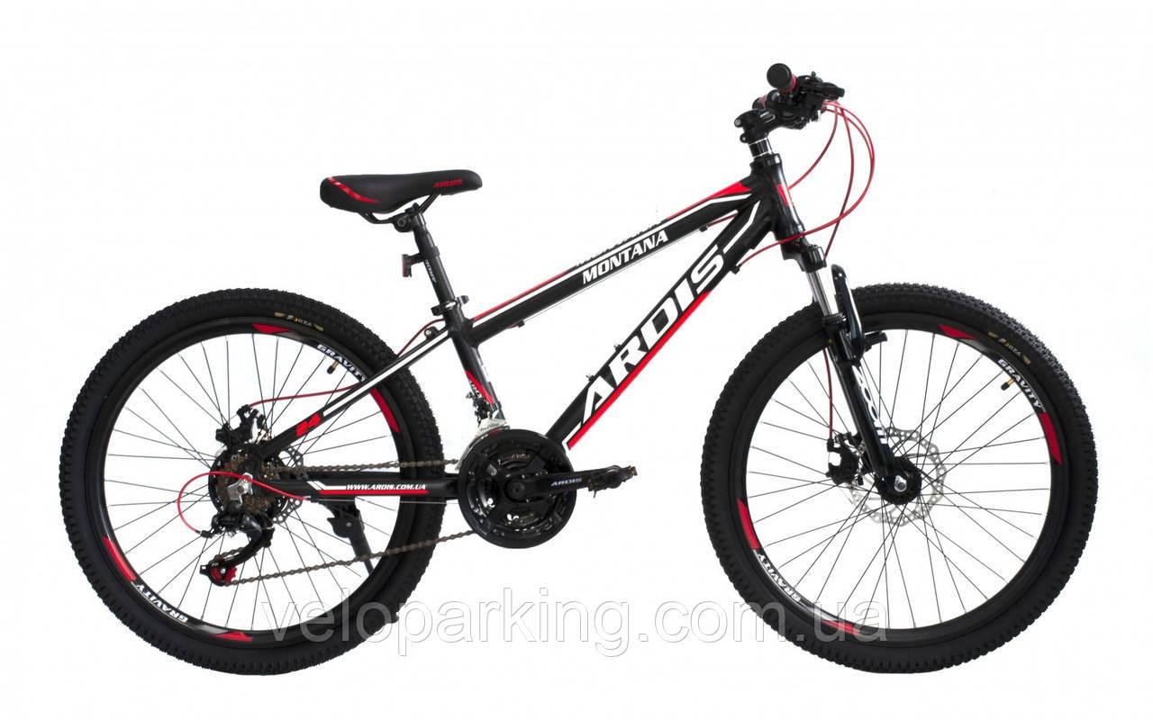 Горный подростковый 24 Ardis Montana алюминиевый велосипед