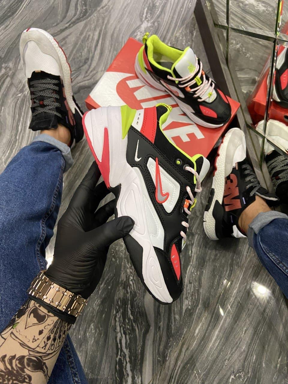 Кроссовки Nike M2K Tekno женские, черного цвета, Найк М2К Текно, женская обувь Найк 39